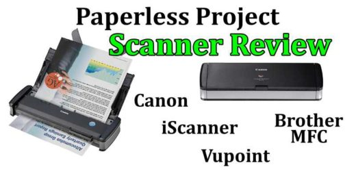 Scanner Review Canon P215