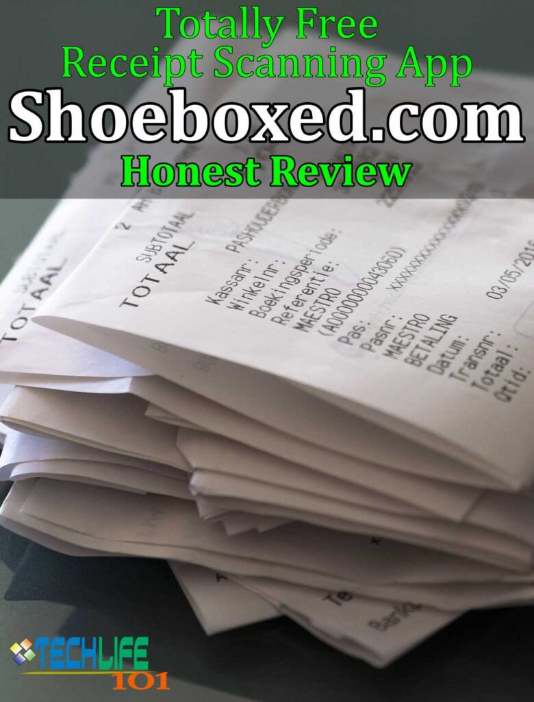 Free Receipt Scanning App - Shoeboxed Review