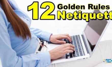 12 Golden Rules of Netiquette