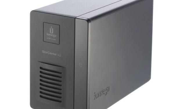 Home NAS Server – Iomega IX2 Review